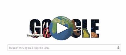 Día de la Tierra 2015: Google dedica su 'doodle' a la conciencia común sobre el planeta
