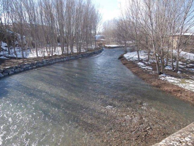 Río Tirón en Herramélluri