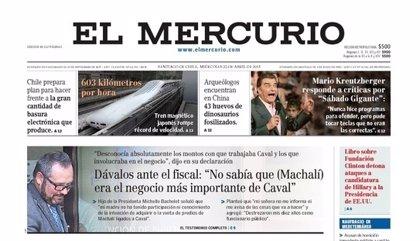Expulsado director de 'El Mercurio' por campaña de desprestigo contra Allende