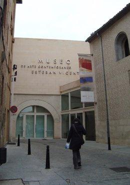 Fachada del Museo Esteban Vicente de Segovia.