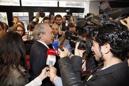 """Michel Temer: """"Brasil es y seguirá siendo una opción segura y atractiva"""""""