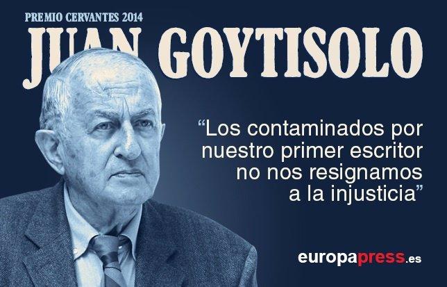El Discurso De Juan Goytisolo En El Premio Cervantes 2014