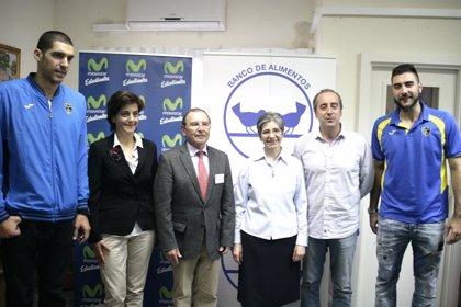 Partido solidario entre el Club Movistar Estudiantes y el Rio Natura Monbus