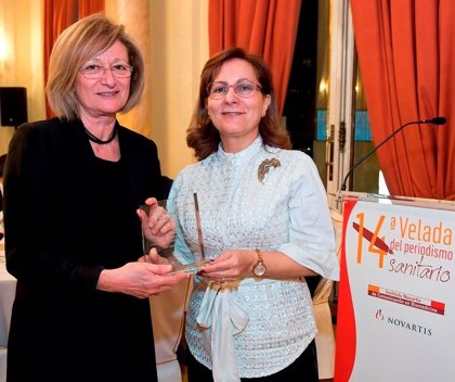 El Instituto Novartis de Comunicación en Biomedicina homenajea a la periodista Elsa González