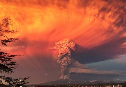 Las espectaculares imágenes del volcán de Chile