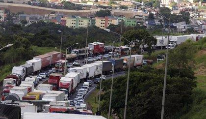 La segunda huelga de camioneros en Brasil apenas tiene incidencia