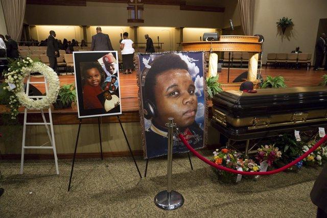 Michael Brown, joven negro tiroteado por la Policía en Ferguson