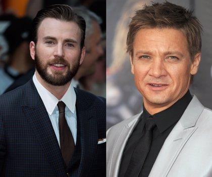 "Jeremy Renner y Chris Evans se disculpan por llamar ""zorra"" a Viuda Negra"