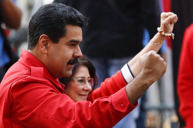 La mujer del presidente venezolano, Cilia Flores