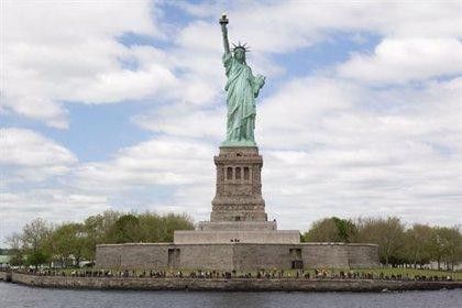 La Policía descarta la presencia de explosivos en la Estatua de la Libertad
