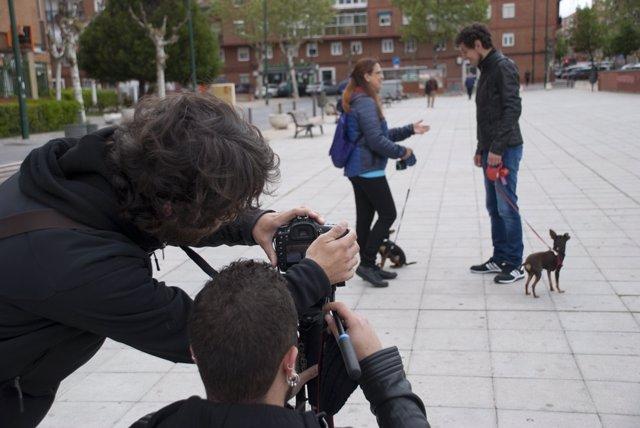 Grabación del vídeo de campaña de Valladolid Toma la Palabra