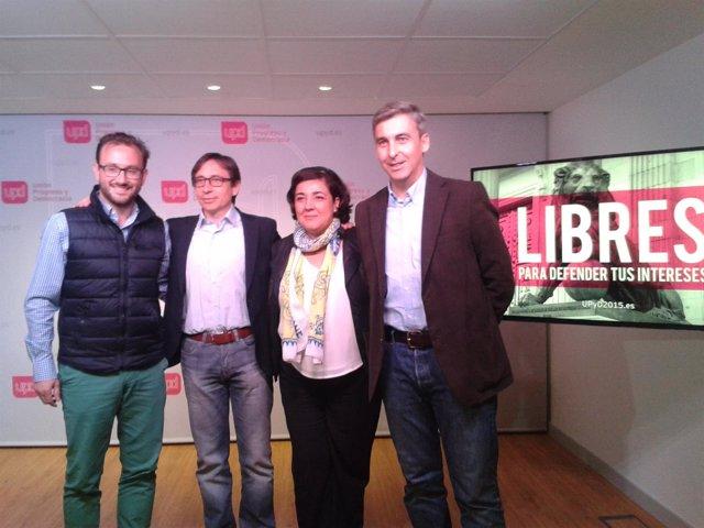 Candidatos de UPyD Madrid