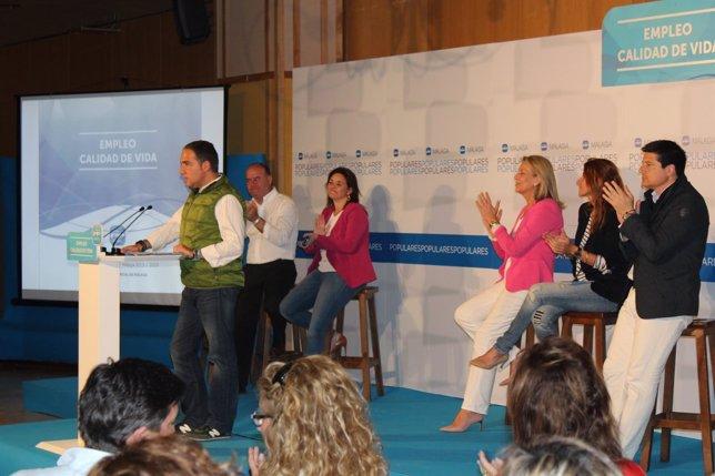 Bendodo (PP) presenta su programa para Diputación