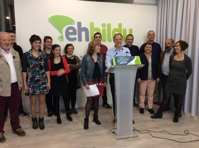 EH Bildu presenta una ley de consultas.