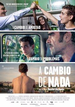 Cartel de la película 'A cambio de nada' de Daniel Guzmán