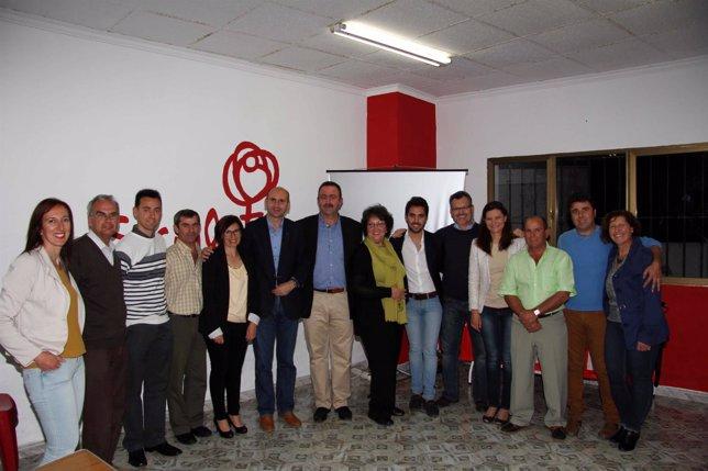 Conejo (PSOE) en Cortes de la Frontera
