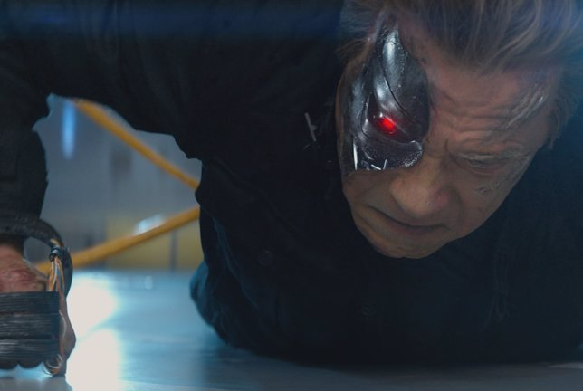 Terminator Génesis, Arnold Schwarzenegger como T-800