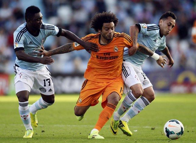 Marcelo intenta avanzar en Balaídos ante la presencia de Orellana