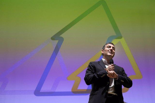 El candidato de Coalición Canaria Fernando Clavijo