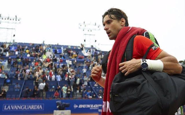 David Ferrer se despide del Godó 2015