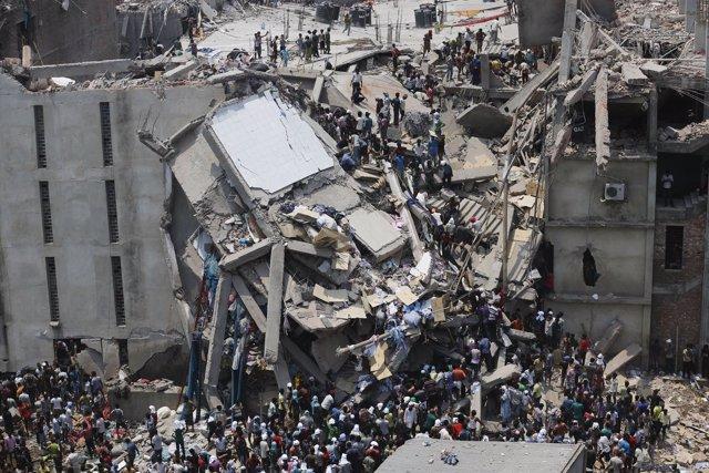 Derrumbe del Rana Plaza en Dacca, Bangladesh
