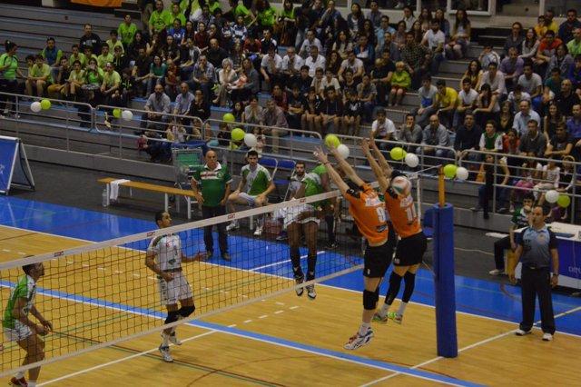 Unicaja Almería se adelanta en la final de la Superliga masculina de voleibol