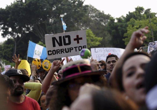 Manifestación guatemalteca del 25 de abril de 2015
