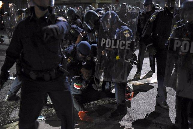 Manifestaciones en Baltimore