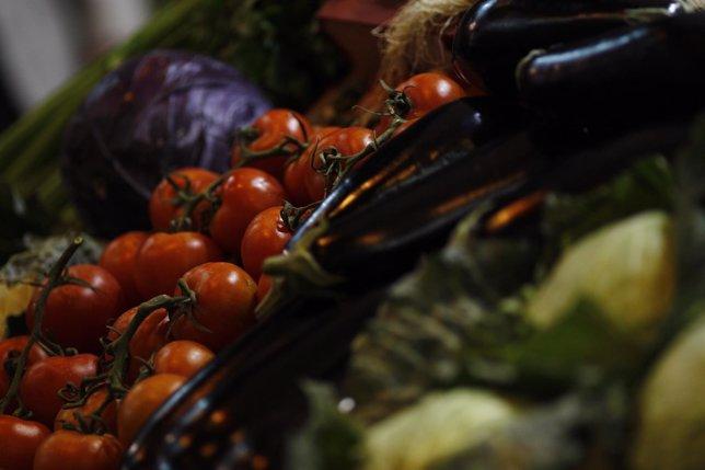 Salón Gourmet de Madrid, comida, hortalizas, repollo, tomates