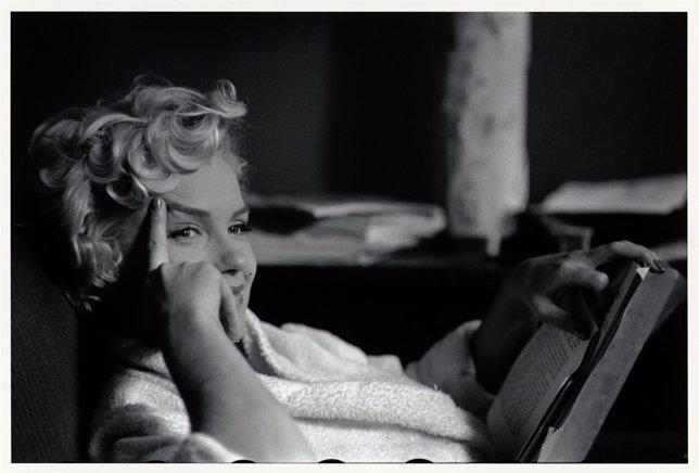 Muestra De La Exposición De Marilyn Monroe En Huelva