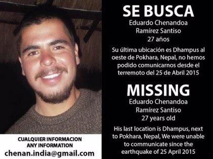 Buscan a un mexicano desaparecido en Nepal