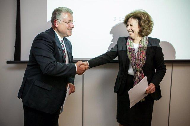 Firma acuerdo Philips - Champalimaud