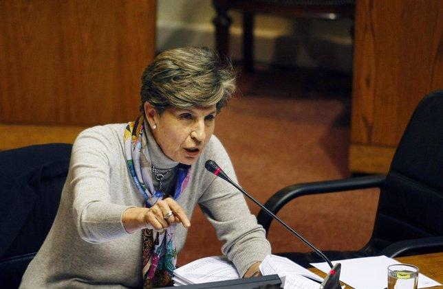 La líder socialista chilena Isabel Allende
