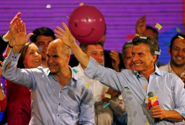 El alcalde de Buenos Aires, Mauricio Macri