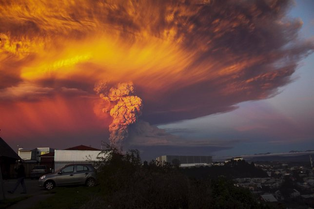 Erupción del volcán Calbuco (Chile)