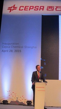 Inauguración de la planta de Cepsa en Shanghai