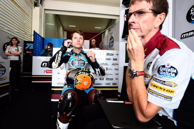 Tito Rabat en el GP Argentina