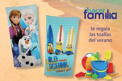 ¡Suscríbete a Hacer Familia y llévate la toalla del verano!