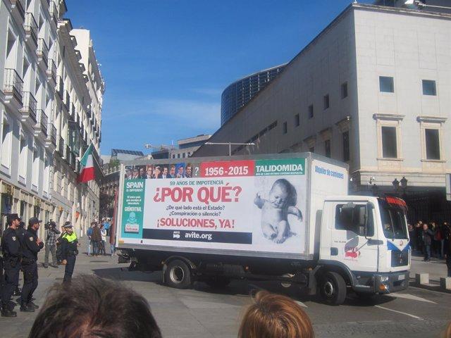 Camión AVITE en el Congreso