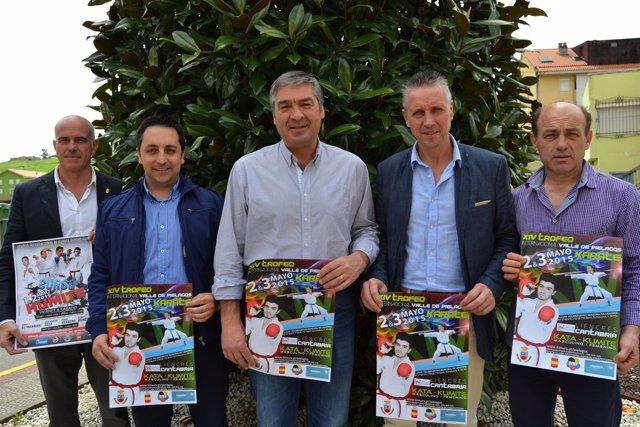 Presentación del Campeonato Internacional de Kárate