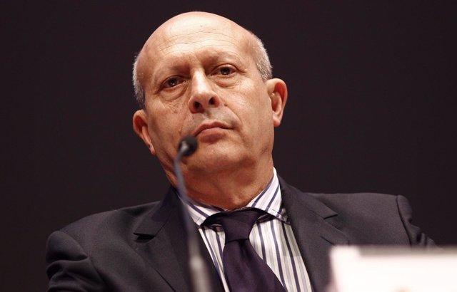 José Ignacio Wert, en la presentación del Festival de Teatro de Almagro
