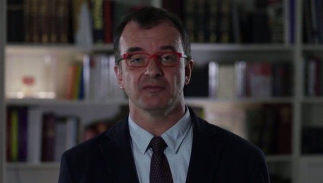 Captura del vídeo de Alfred Bosch 'És l'hora de parlar clar'