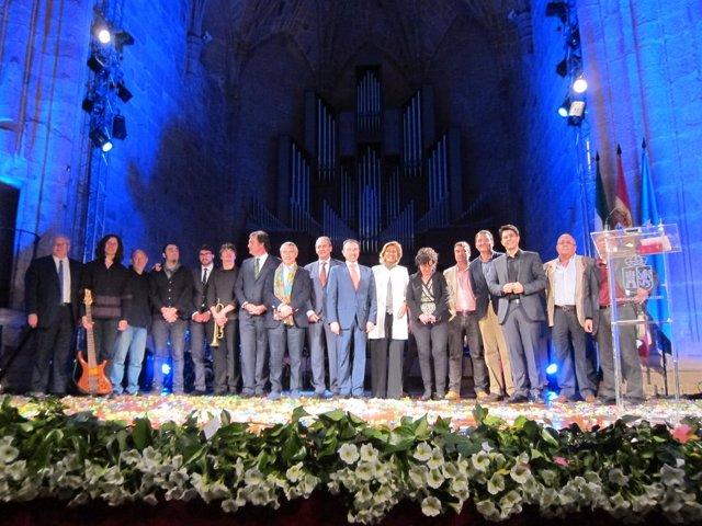 Gala de los certámenes de la Diputación Provincial de Cáceres