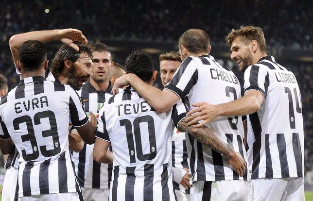 La Juventus, a un punto del 'Scudetto'