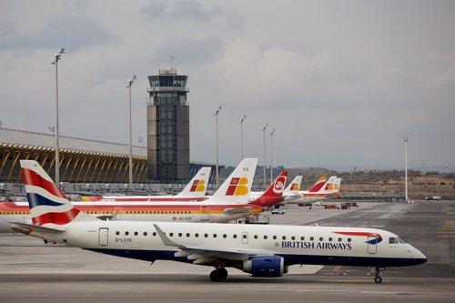 Aviones de BA e Iberia