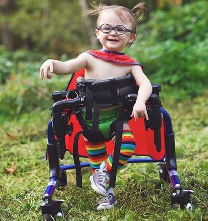 Niños con necesidades especiales se convierten en auténticos superhéroes