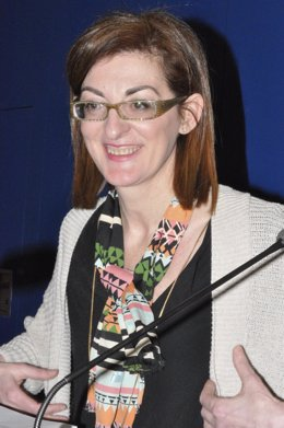 La candidata de UPyD a las elecciones europeas Maite Pagazaurtundua.