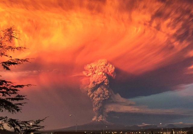 Erupción Volcán Calbuco (Chile)