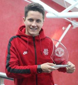 El centrocampista del Manchester United Ander Herrera
