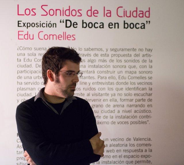El artista valenciano Edu Comelles.